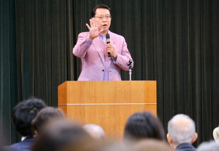 防災・子育て支援・国際化で文京区政に貢献を