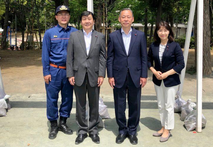 文京公明区議団の新メンバー